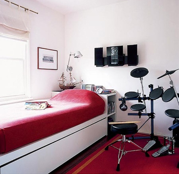 Small Music Bedrooms