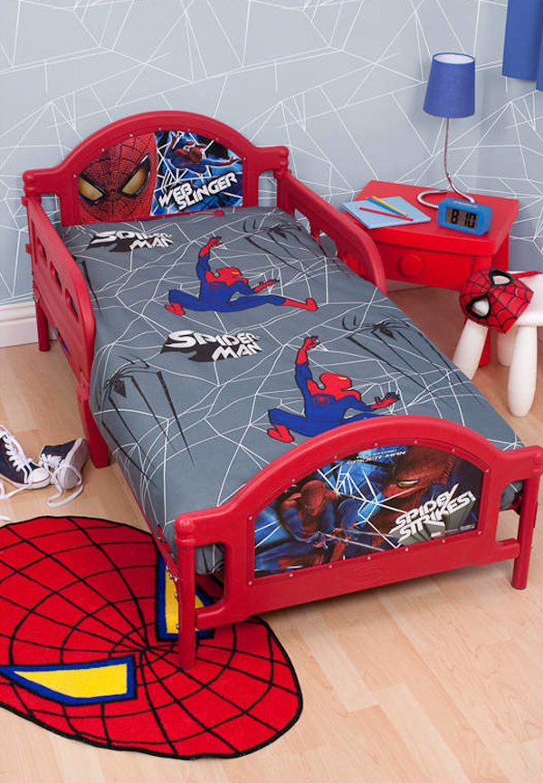 20 Kids Bedroom Ideas With Spiderman Themed  House Design
