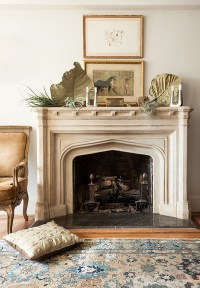 Stylish-fireplace-in-nyc-apartments