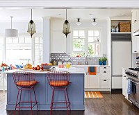 20 Colorful Kitchen Ideas in Small Spaces | House Design ...