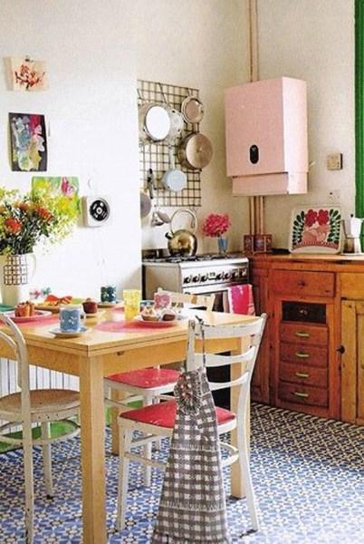 cute retro kitchen 25 Inspiring Retro Kitchen Designs | House Design And Decor