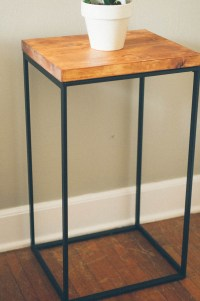 DIY-Ikea-side-table