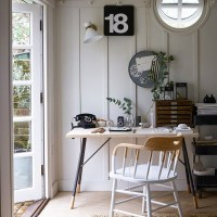 17 Rustic Office Furniture Ideas   House Design And Decor