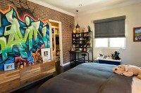 25 Cool Graffiti Wall Interior Ideas | House Design And Decor