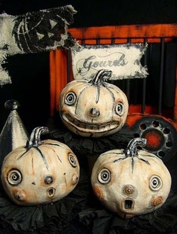 20 Vintage Halloween Decorations  House Design And Decor