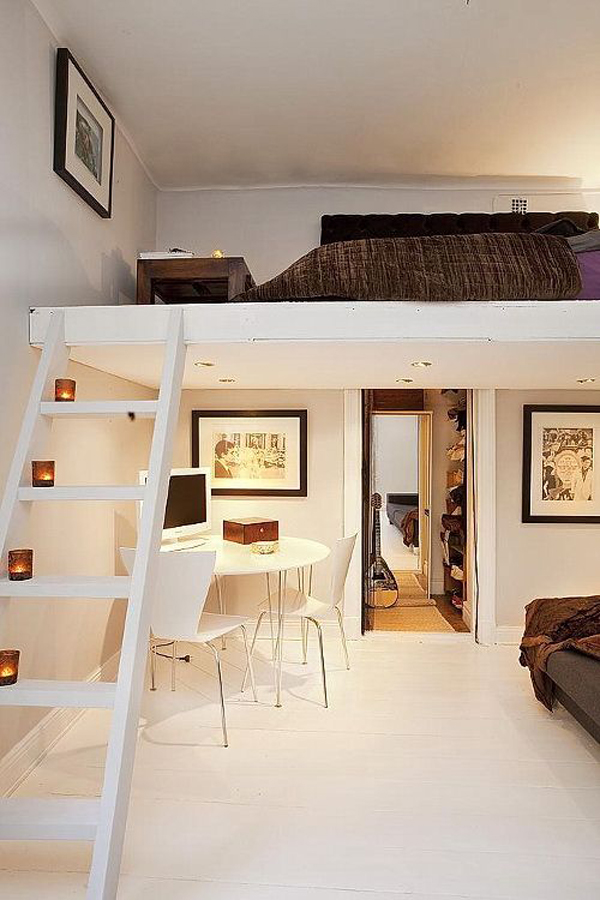 20 Awesome Loft Beds For Small Rooms House Design And Decor & Loft Room Idea \u2013 Dollybhargava Image