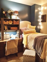Beautiful-dorm-room-with-lighting-ideas