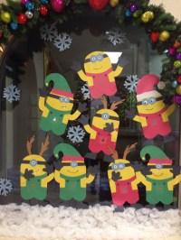 Minion-christmas-wall-decor-ideas