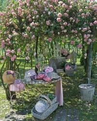 17 Shabby Chic Garden For Romantic Feel | House Design And ...