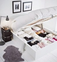 17 Genius Under Bed Storage Ideas for Tiny Bedroom | House ...