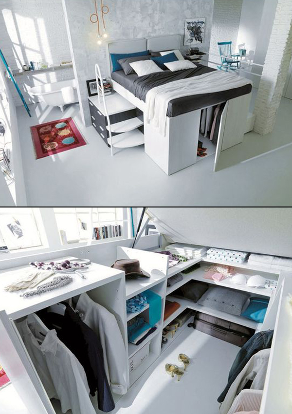 17 Genius Under Bed Storage Ideas for Tiny Bedroom  House