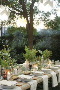20 Rustic Table Setting Ideas to Summer Celebrate | House ...