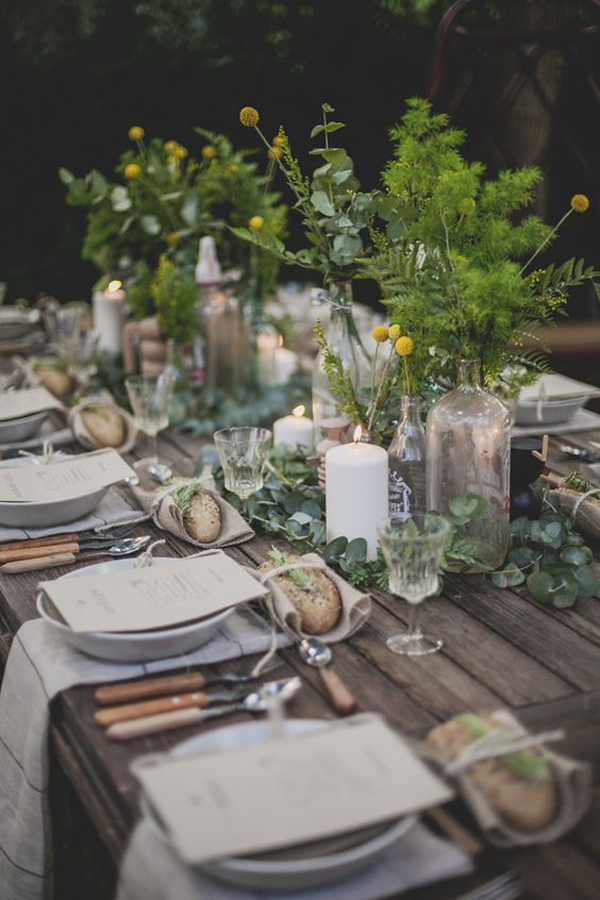 Summer Dining Table Decor 20 Rustic Table Setting Ideas To Summer Celebrate | House