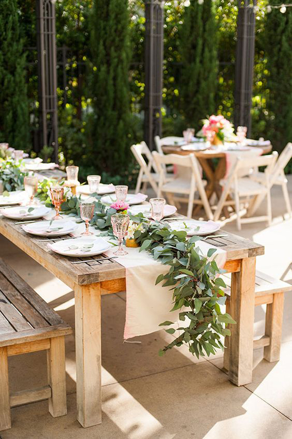 20 Rustic Table Setting Ideas To Summer Celebrate House