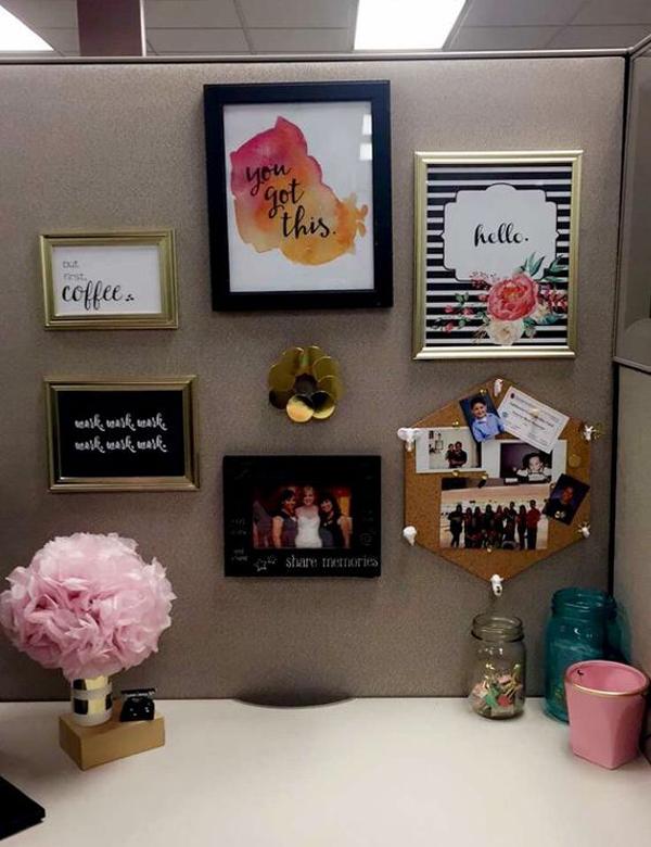 20 Creative DIY Cubicle Workspace Ideas