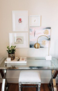 20 Feminine Glass Desks for Modern Workspaces | House ...
