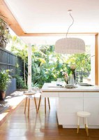 10 Mesmerizing Indoor Outdoor Kitchen for Summers   House ...