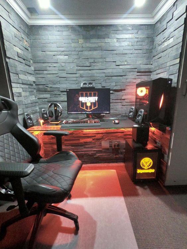 Here are some gaming references you might (or might not) get. 20 Coolest Boys Bedroom Ideas With Computer Gaming Desks