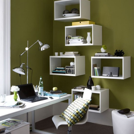 Home office box shelves | Best home office 2010 | Home-office | PHOTO GALLERY