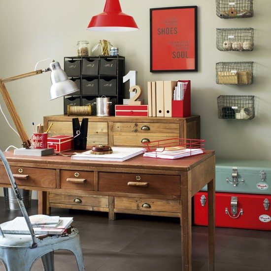 Make your room industrial | 5 clever ideas for home offices | home office ideas | decorating inspiration | housetohome