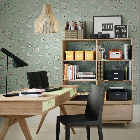 Create a cool retro study | 5 clever ideas for home offices | home office ideas | decorating inspiration | housetohome