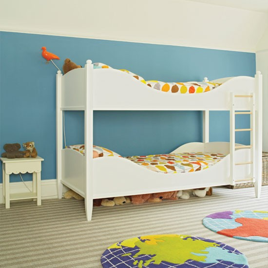 Modern blue child's bedroom | Childrens room decorating ideas | Childrens room | Homes & Gardens | IMAGE | Housetohome.co.uk