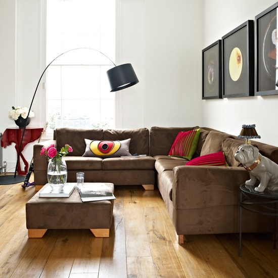 Quirky modern living room | Living room decoration | Livingetc | Housetohome