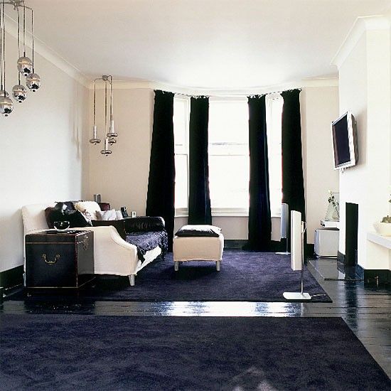 cleaning white fabric sofa sure fit 3 cushion slipcover monochrome living room | decorating ideas housetohome.co.uk