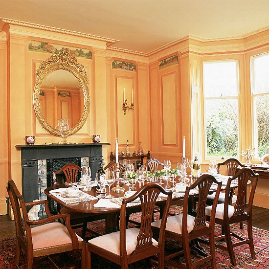 Formal Victorian dining room  Dining room furniture