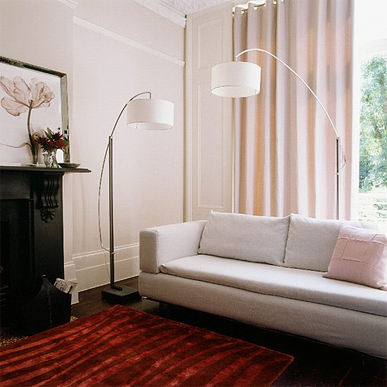 Living room lighting  Decorating ideas  housetohomecouk