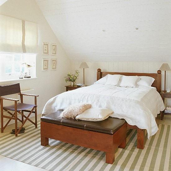 White New Englandstyle bedroom  Bedroom furniture