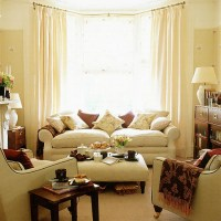 Living room with brown accents | housetohome.co.uk