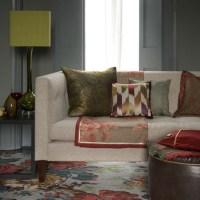 Plush living room | Decorating ideas | housetohome.co.uk