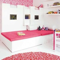 Hot pink children's bedroom   Bedroom furniture ...