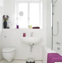 All-white bathroom | housetohome.co.uk