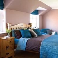 Teal Colour Bedroom Ideas   Interior Home Design   Home ...