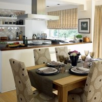 Stylish open-plan kitchen-dining room   housetohome.co.uk