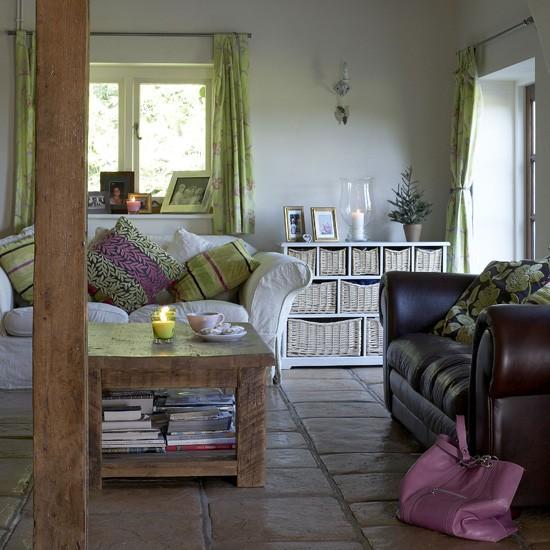 Modern country living room  Living rooms  Living room ideas  Image  housetohomecouk
