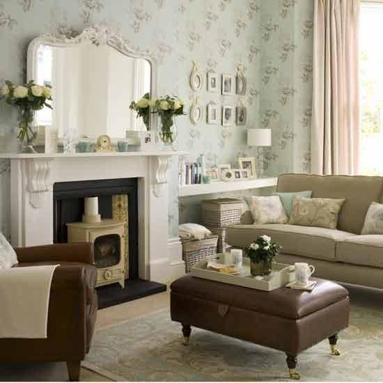 Modern vintage living room  Living rooms  Living room