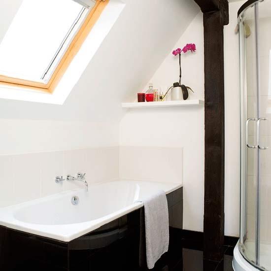 small ensuite bathroom ideas Compact en-suite bathroom