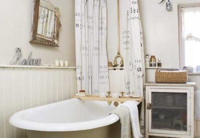 Rustic Cottage Bathrooms