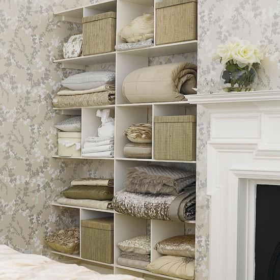 Bedroom storage shelves  Bedrooms  Design ideas  Image