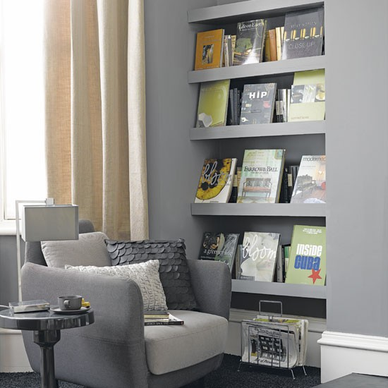 Living room storage shelves  Living rooms  Design ideas