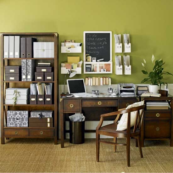 green home office Natural green home office | Home office | Design ideas | housetohome.co.uk