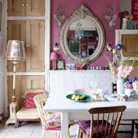 Eclectic kitchen-diner   bold colours   kitchen ideas ...