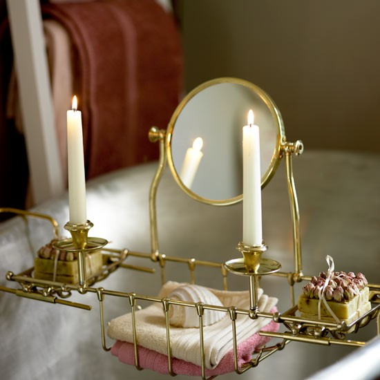 Antique bath tray | Bathroom finishing touches | Bathroom accessories | PHOTO GALLERY | Housetohome