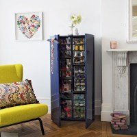 Living room cupboard with shoe storage | Family living ...