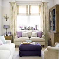 Purple living room | housetohome.co.uk