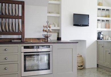 Soft Gray Kitchen Cabinets