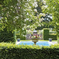 Take a tour around a beautiful English country garden ...